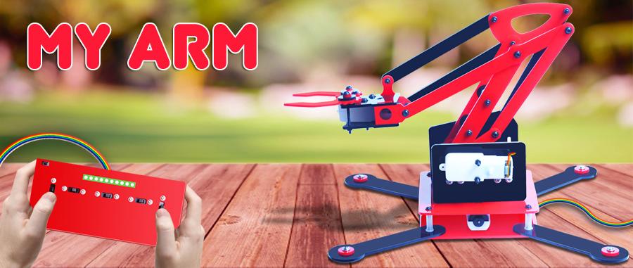 MY ARM Robotic Arm Kit4Curious